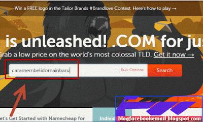 cara membeli domain baru