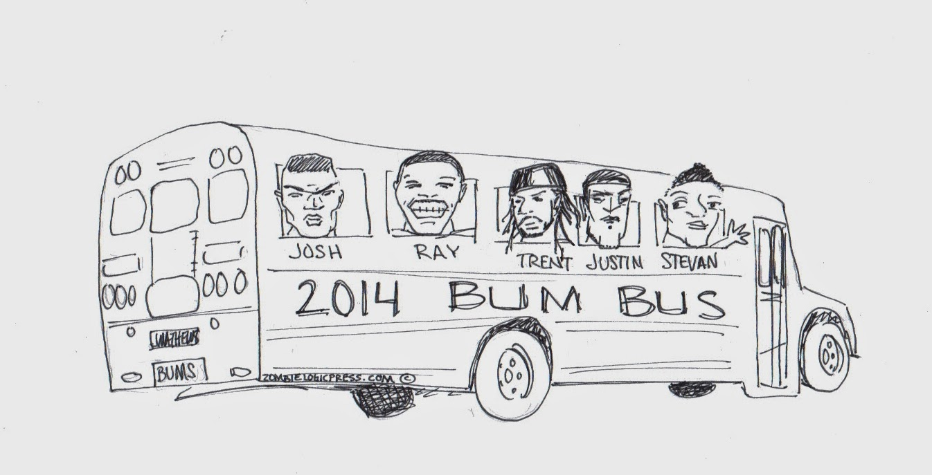 Fantasy Football Bum Bus 2014