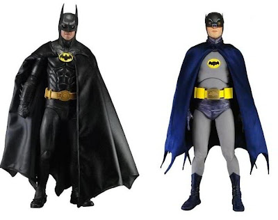  Another look at the NECA Batman figures