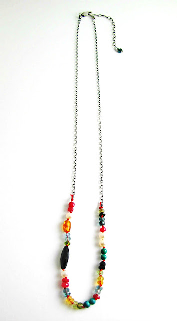 Marrakesh Necklace by Beth Hemmila of Hint Jewelry
