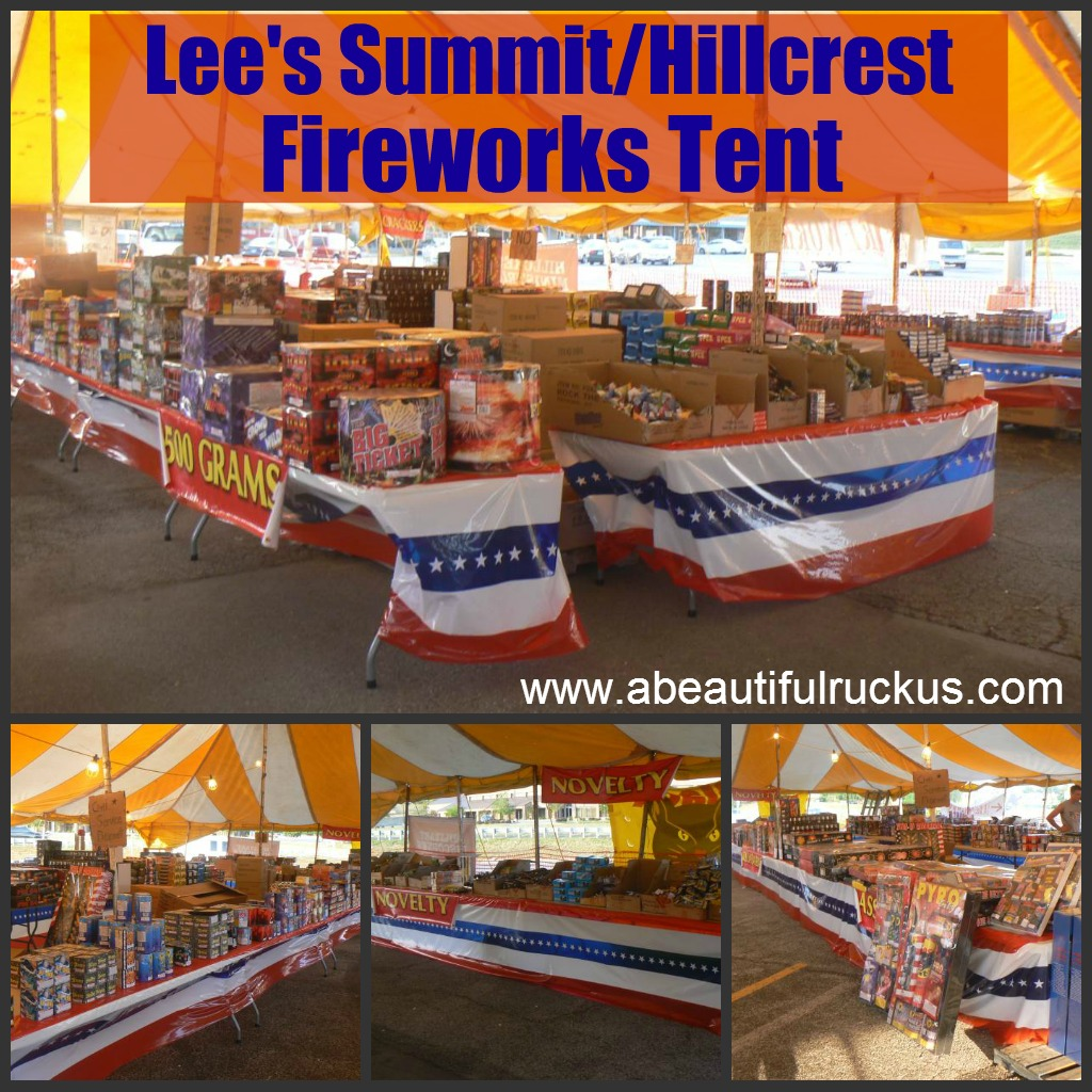Last year the Leeu0027s Summit/Hillcrest Fireworks Tent offered an awesome giveaway through this blog along with a discount for an A Beautiful Ruckus readers.  sc 1 st  A Beautiful Ruckus & A Beautiful Ruckus: Independence Day Fireworks Giveaway!