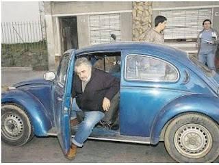 VW beetle milik Jose Mujica, Presiden Uruguay