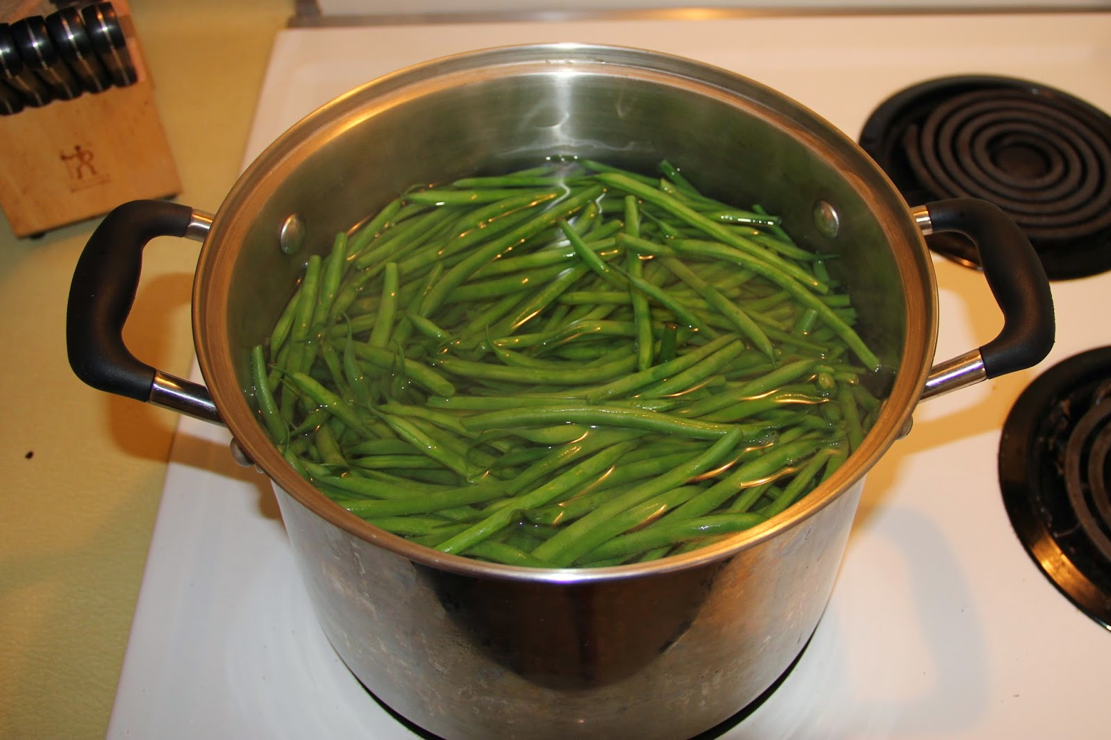 how to cook beans in boiling water