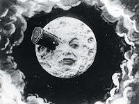 Cena do filme A trip to the moon, de Georges Méliès