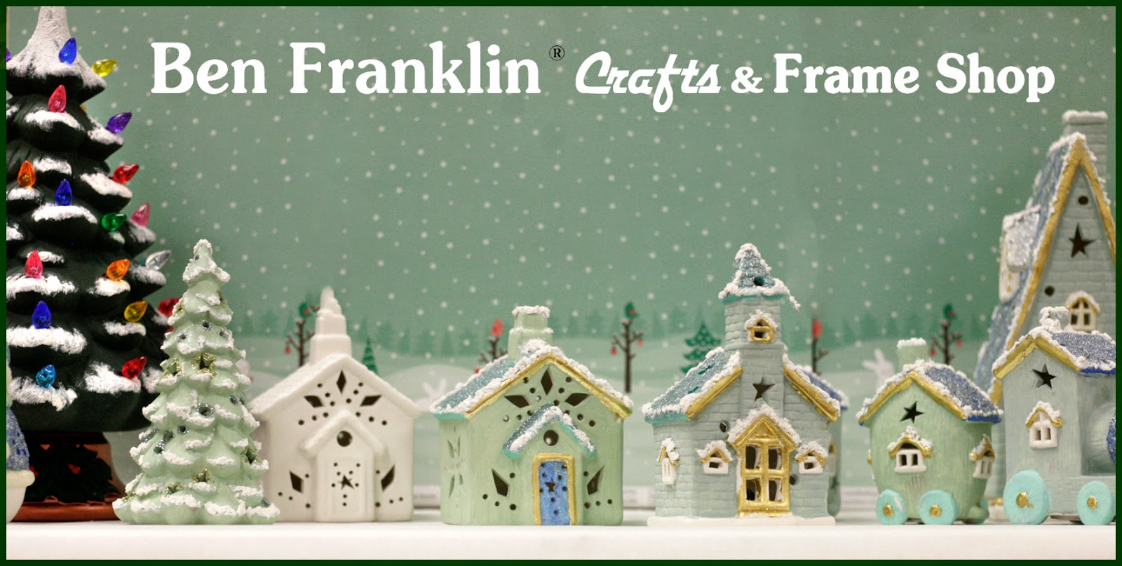paint your own christmas village nostalgia items continue to be a popular trend do you remember the paintable ceramics craft stores used to carry - Paint Your Own Ceramic Christmas Decorations