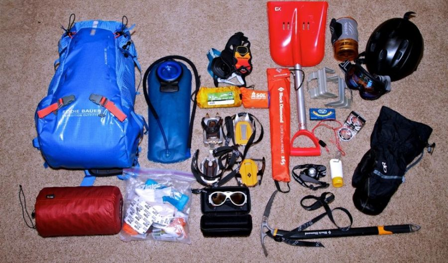 ADVENTURE & MOUNTAINEERING: MOUNTAINEERING EQUIPMENTS