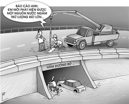 Biếm họa hài hước xây dựng trong nước