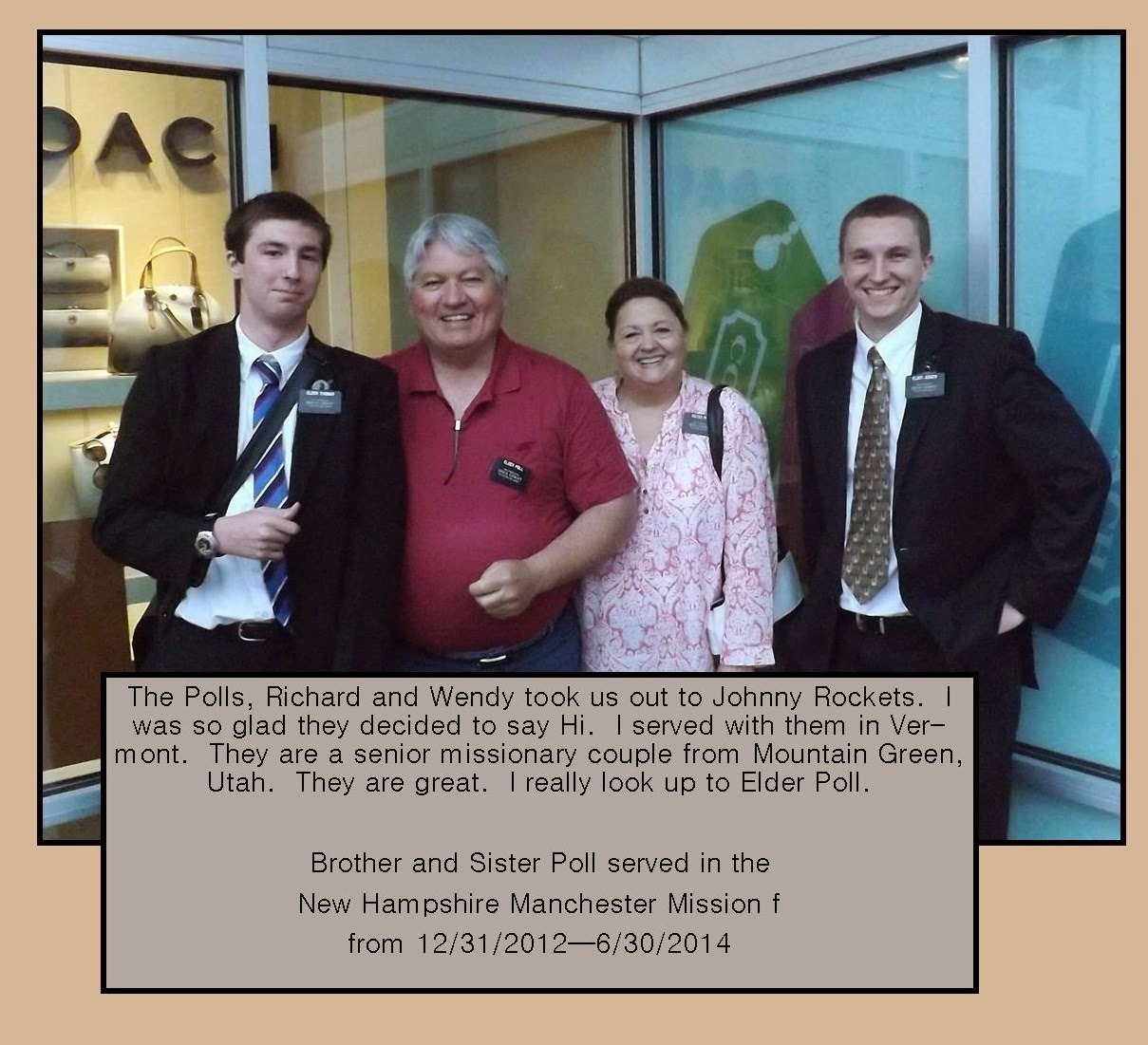 June 2014 - Senior Missionary Couple