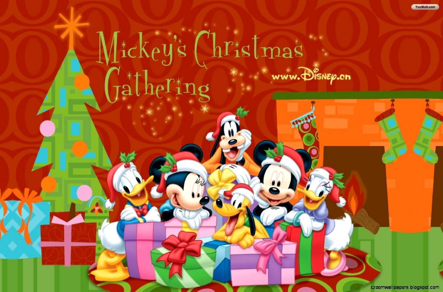 Merry Christmas Disney Screensaver