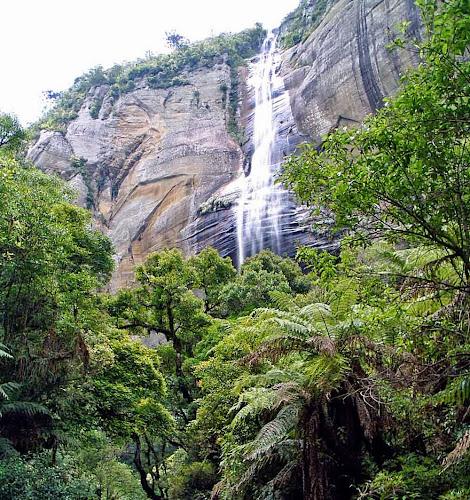 Cachoeira Rio dos Bugres, vista de baixo