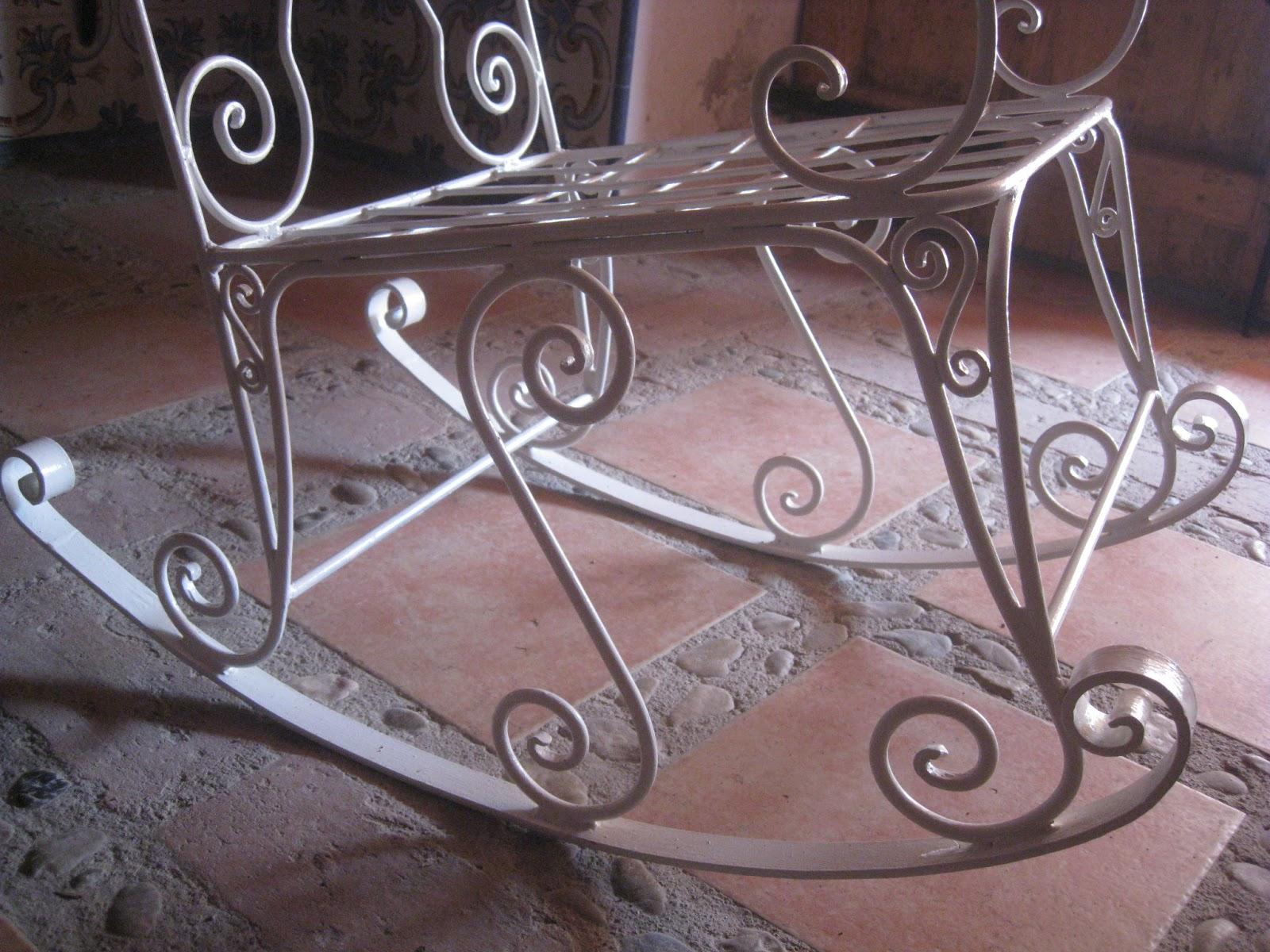 Mi forja yunque hierro y fuego sillas y sillones for Sillas de jardin de hierro