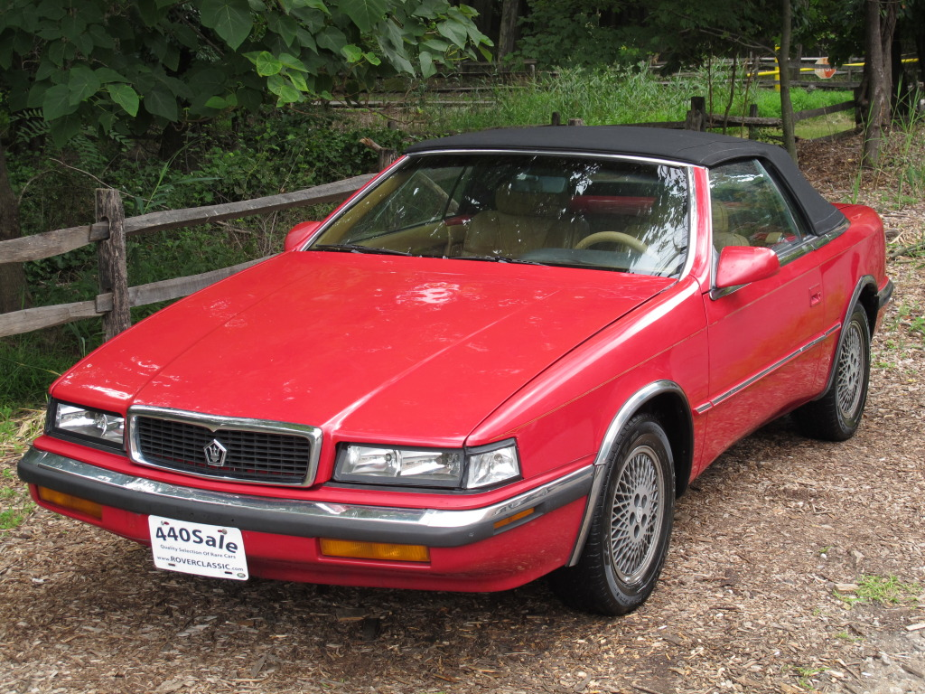 ... Out This Car: Fashion Faux Pas: 1988 Chrysler TC By Maserati 5 Speed