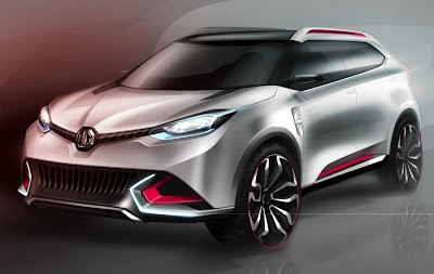 MG CS Concept (2013 Rendering) Front Side