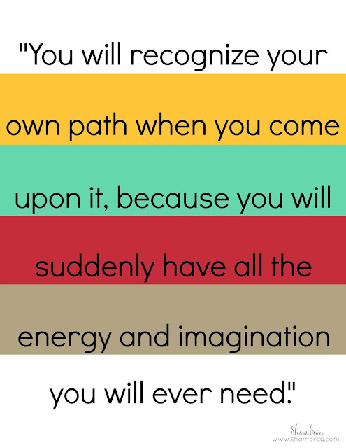 path, energy, imagination