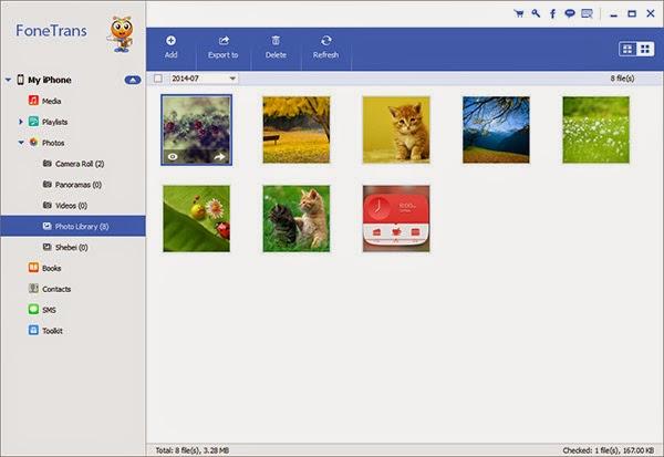 Aiseesoft FoneTrans Screenshot