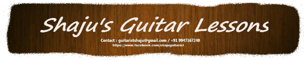 Shaju's Guitar Lessons