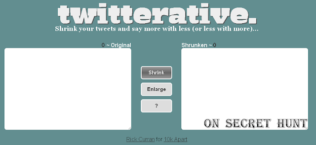 twitterative Top 6 Websites To Shorten Your Tweets Automatically
