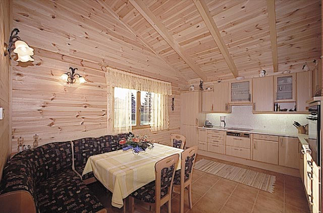 Case in legno prefabbricate case in legno massiccio - Case prefabbricate interni ...