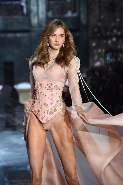 Fashion Model, @ Sanne Vloet - Victoria's Secret Fashion Show in New York City