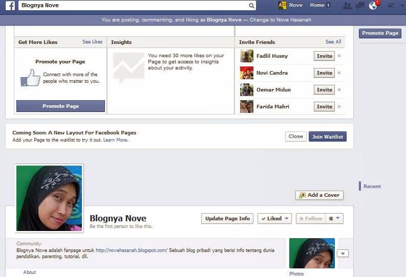 Cara Membuat FanPage Facebook Dan Memasangnya Di Blogspot 3