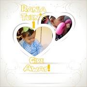 Rania Turn's 1 GiveAway