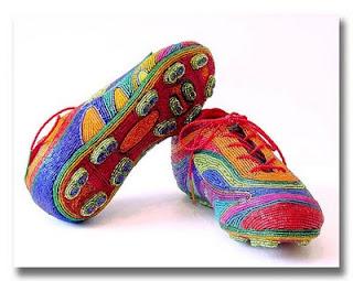 вышивание бисером Бисерная обувь