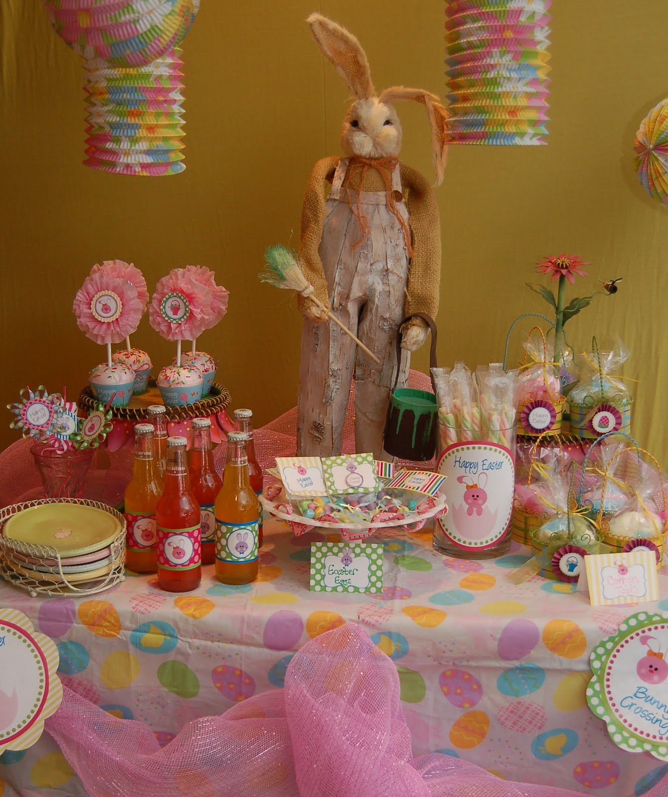 Maddyson 39 s lane easter tablescape - Table easter decorations ...