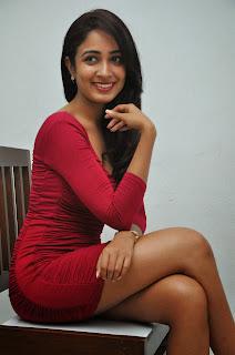 Actress Aditi Chengappa Pictures in Short Dress at Moodu Mukkallo Cheppalante Audio Launch  1