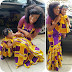 Beautiful Ankara Style For Mummy and Daughter