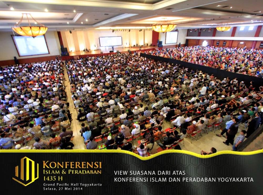 5.500 Umat Islam Yogyakarta Hadiri Konferensi Islam dan Peradaban yang Diadakan HTI DIY