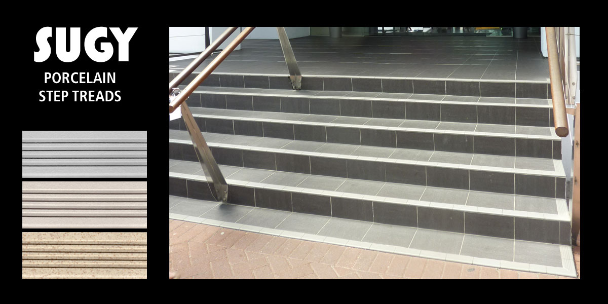 They Are The Preferred Step Treads For Many Large Commercial Projects  Throughout New Zealand. The SUGY Range Is Available In 14 Colour  Combinations And ...