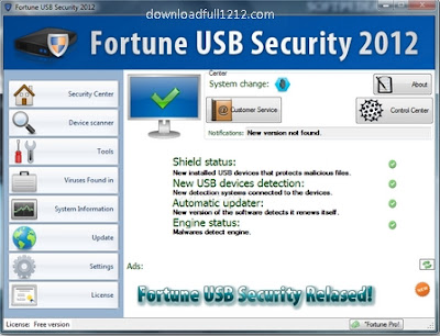 Fortune USB Security 2012 Full Freeware