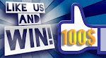 LIKE US AND WIN 100$