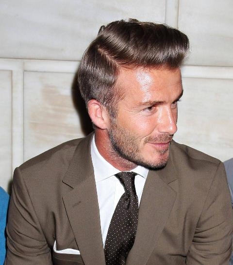 David Beckham Quiff