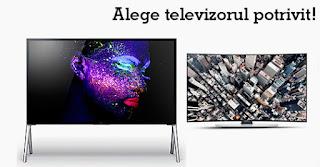 Cum aleg televizorul potrivit?