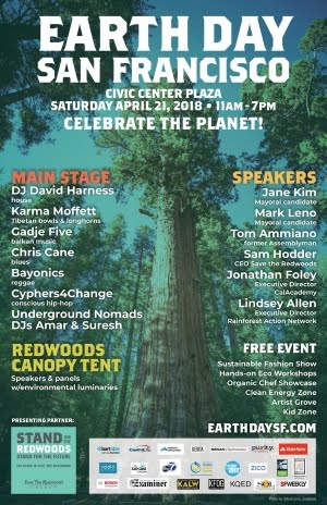 4/21 : Earth Day SF 2018 @ Civic Center