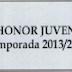 EL GRUPO VII DE DIVISIÓN DE HONOR JUVENIL YA TIENE CALENDARIO DE PARTIDOS.