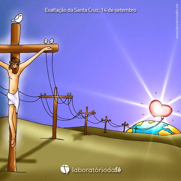 Preparar o domingo da Exaltação da Santa Cruz (14 de setembro), no Laboratório da fé, 2014