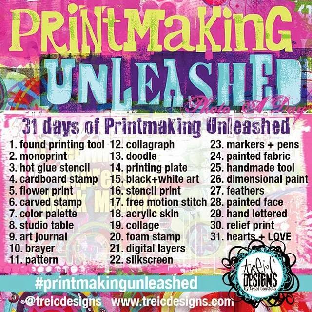 printmaking unleashed chart