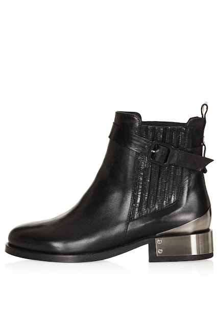 boots with metal heel