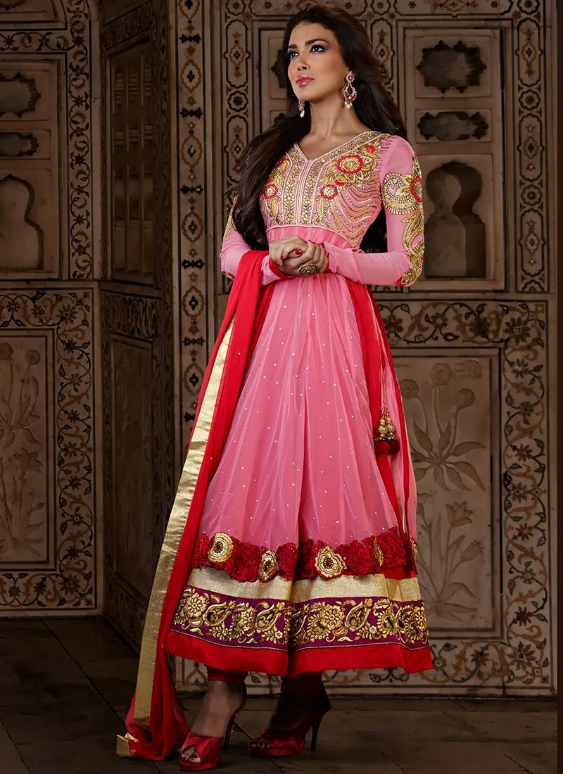 Anarkali Suits Designs for Girls