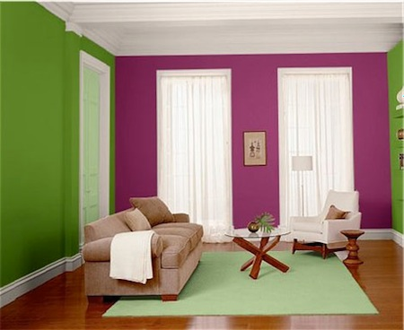 House of colors popular home interior design sponge Home interior color schemes
