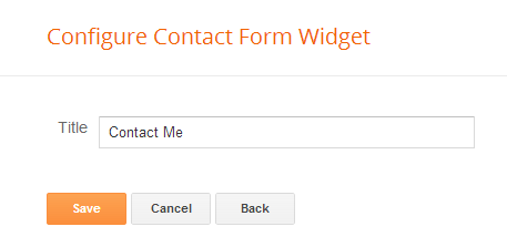 Blogger Contact Form Picture