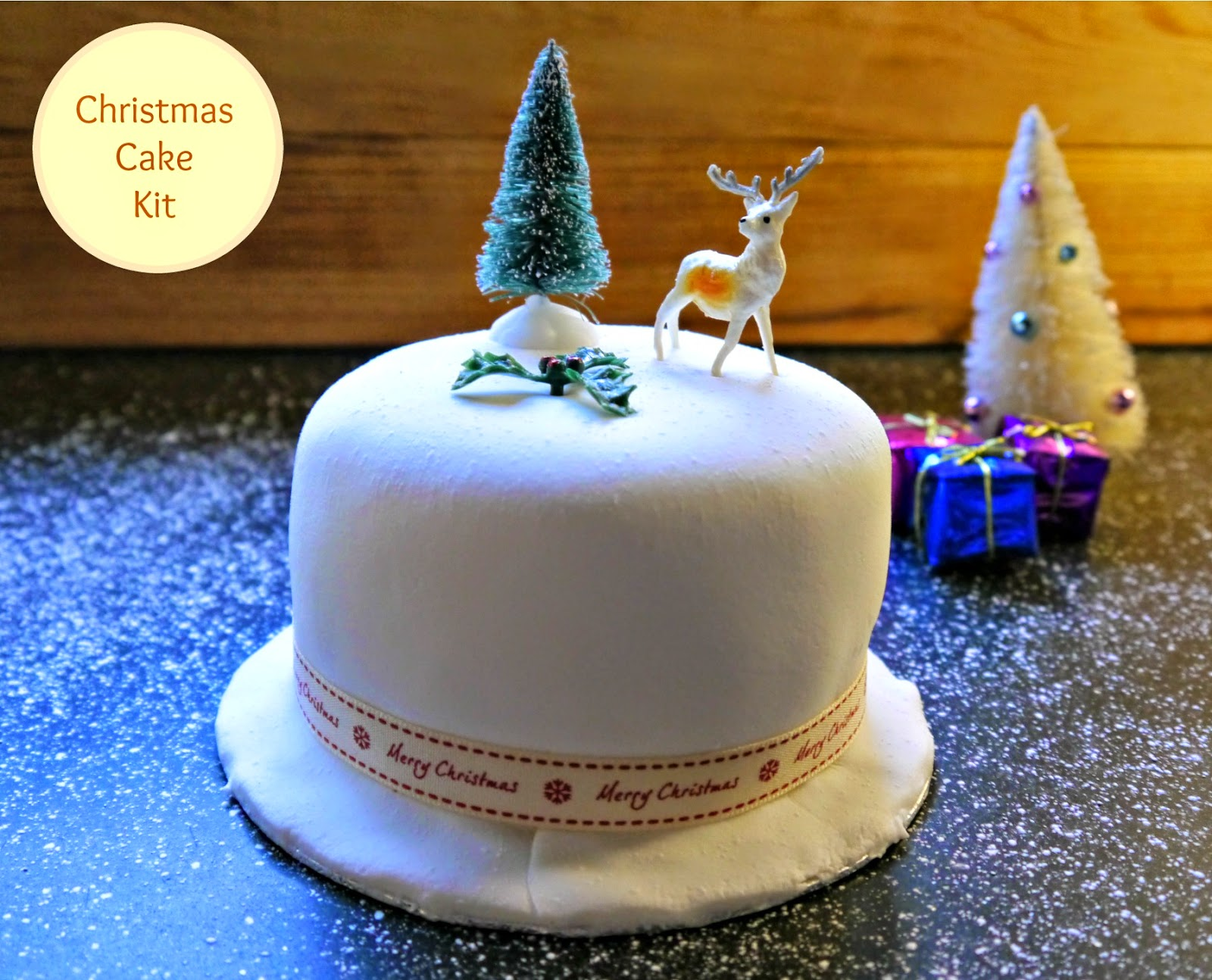 Christmas Cake Decorating with Sweet Success The Mummy ...