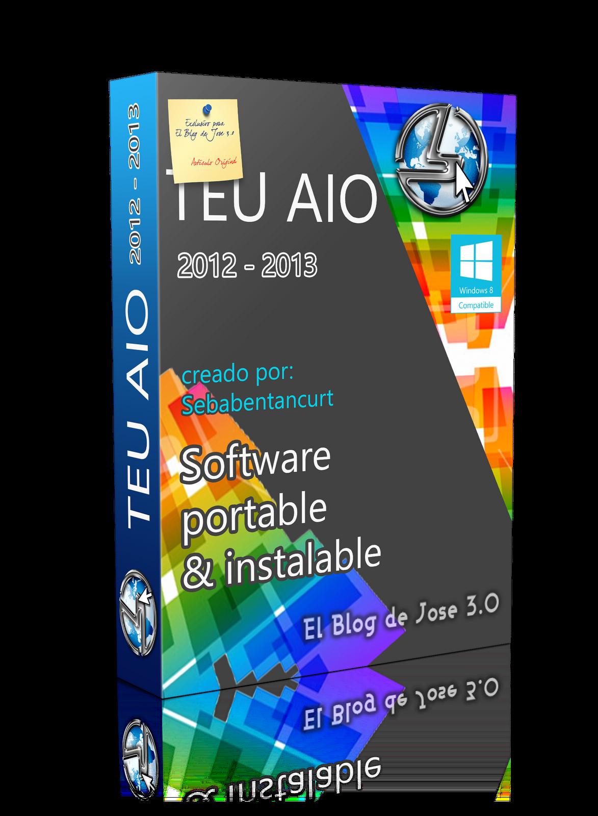 Todo En Uno 2012-2013 (Instalables y Portables) Español MEGA