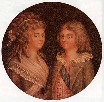 Louis XVII in Art Estampe