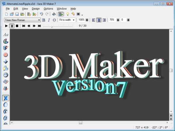 Xara 3d version 7 download full crack c mp3 k 3d creator free