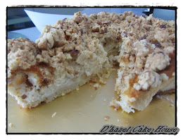 new-apple crumble cheese cake