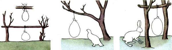 Из чего сделать петли на зайца своими руками
