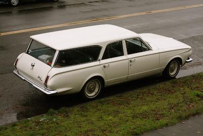 1964 Plymouth Valiant wagon.